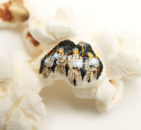 Gli acchiappafantasmi più famosi del cinema perfettamente riconoscibili anche sul cibo. Fonte: https://www.instagram.com/hasankale08/?hl=it