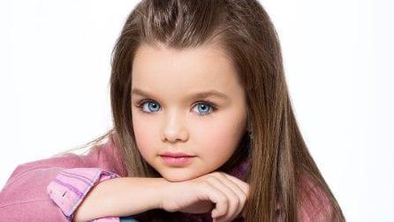 Anastasia, a 6 anni è lei la bambina più bella del mondo
