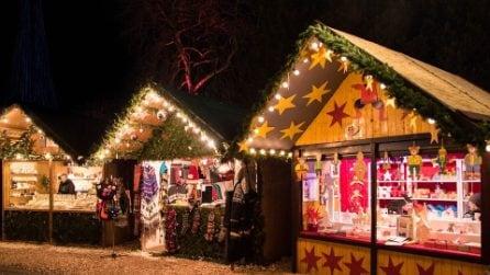 Mercatini di Natale: acquisti natalizi tra tradizionali bancarelle