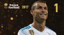 Pallone d'Oro 2017, la classifica finale