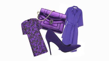 Ultra violet, il colore dell'anno nella moda