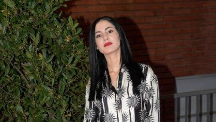 Il look di Giulia De Lellis al Costanzo Show