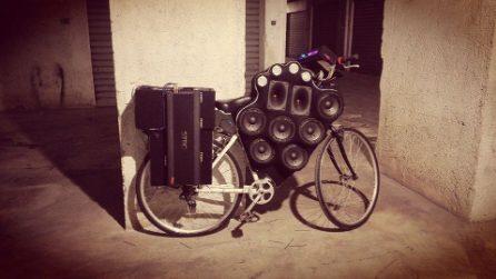 A Palermo le bici diventano sistemi stereo mobili a tutto volume