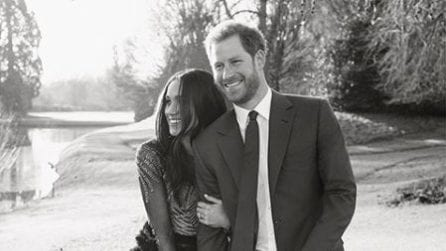 Le foto ufficiali del fidanzamento del principe Harry e Meghan Markle