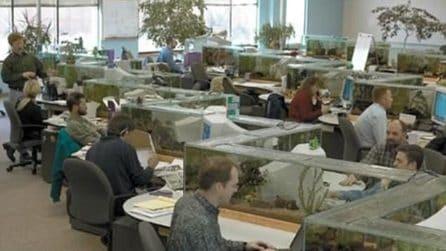 Dal bunker al bagno: i 7 uffici più strani del mondo