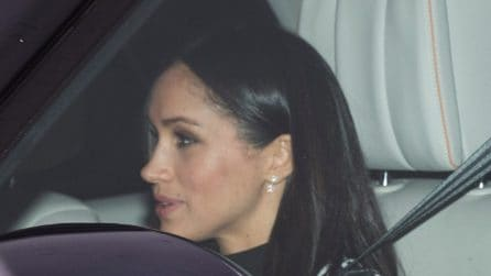 Il look di Meghan Markle per il pranzo di Natale con la regina