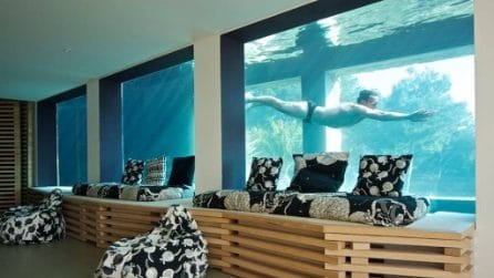 La casa-acquario che sta incantando il mondo intero