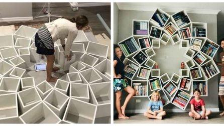 Bastano pochi scaffali comprati online per creare una libreria spettacolare