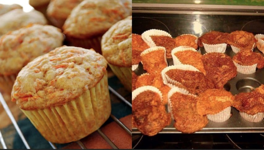Muffin alle carote. Fonte: https://www.mykitchenescapades.com/spiced-carrot-muffins/ - https://www.instagram.com/explore/tags/cookingfails/