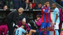 Premier, le immagini di Crystal Palace-Manchester City
