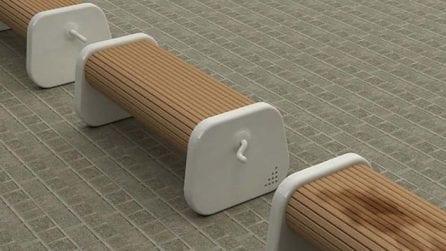 Non è una panchina come le altre: un'invenzione geniale