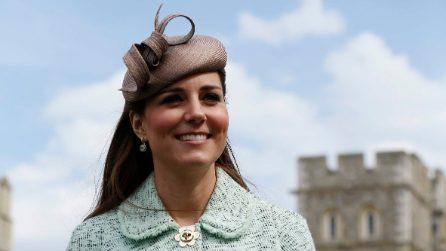 L'evoluzione dei look premaman di Kate Middleton
