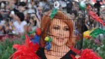 I cappelli più originali di Marina Ripa di Meana