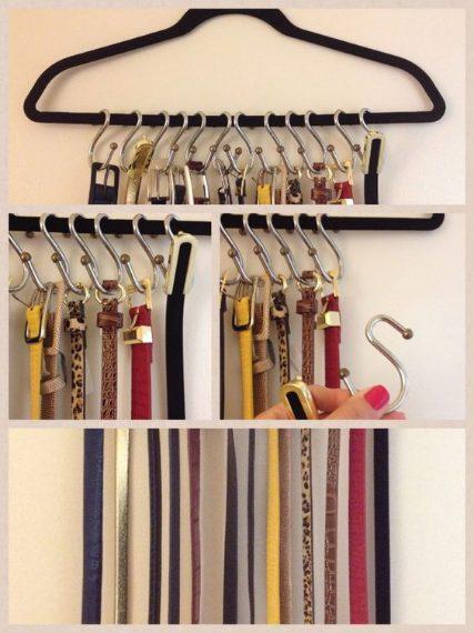Organizzare e tenere conservate al meglio le vostre cinture
