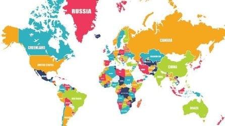 Nella mappa ci sono degli errori: riesci a individuarli tutti?