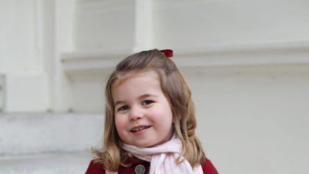 Il primo giorno d'asilo della principessa Charlotte
