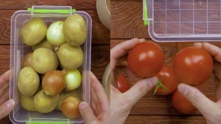 Come conservare e mantenere freschi gli alimenti