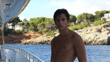 Tommaso, il figlio di Alessia Marcuzzi e Simone Inzaghi
