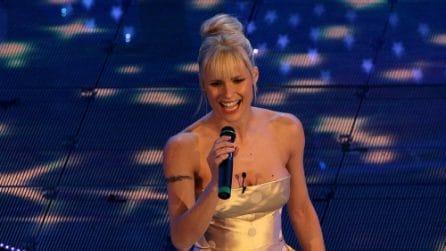 Gli abiti di Michelle Hunziker a Sanremo 2007
