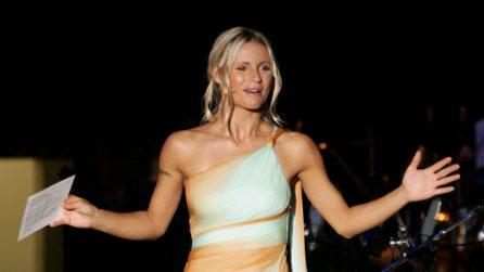 Gli abiti per Michelle Hunziker a Sanremo 2018