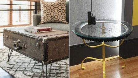Gli oggetti comuni si trasformano: 12 tavoli fai da te che vi stupiranno