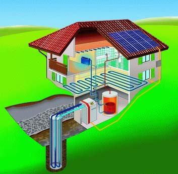 La scelta di installare in casa un impianto di riscaldamento geotermico, che preleva energia termica dal sottosuolo attraverso delle pompe di calore, può far risparmiare anche dal 60% all'80%.