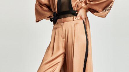 Pantaloni con le strisce laterali: il must per l'inverno 2018