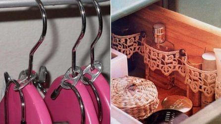 """Trucchetti """"salvaspazio"""" in casa: 13 idee ingegnose per tenere gli oggetti in perfetto ordine"""
