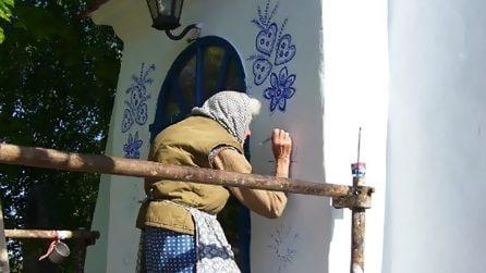 Questa donna ha 90 anni e quello che ha fatto alla sua casa è stupefacente