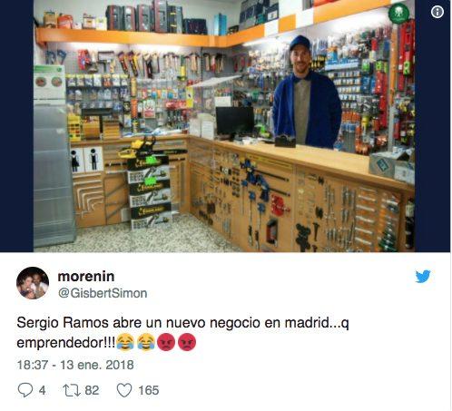"""""""Sergio Ramos apre una nuova attività a Madrid ... imprenditore!"""""""