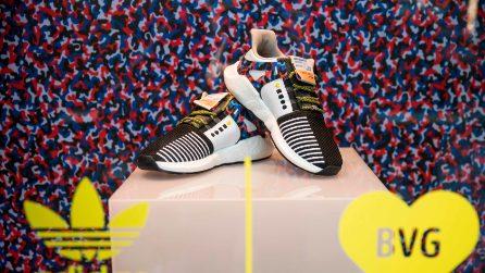 Le scarpe Adidas diventano un biglietto per la metro