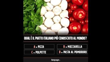 Qual è il piatto italiano più famoso del mondo?