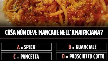 L'ingrediente che non può mai man care nella vera Amatriciana
