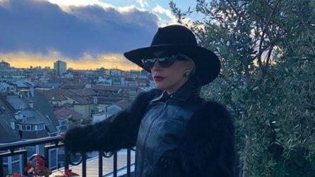 Tutti i look milanesi di Lady Gaga