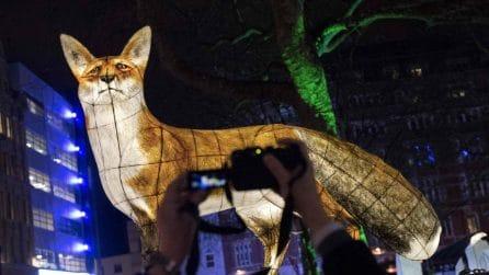 Lumiere London, il festival delle luci trasforma la città