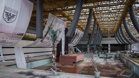 Nella stazione sciistica abbandonata della Sud Corea