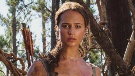 Da Angelina Jolie ad Alicia Vikander: la trasformazione di Lara Croft