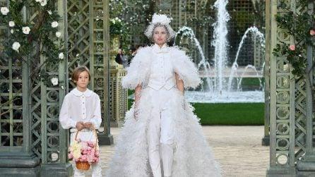 Chanel collezione Haute Couture Primavera/Estate 2018