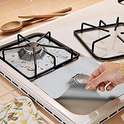 La Senreal ha realizzato delle protezioni per fornelli, lavabili in lavastoviglie, che vi permetteranno di tenere sempre la cucina pulita e di fare pochissima fatica per sistemare dopo aver cucinato.