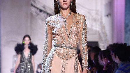 Rosa in passerella: gli abiti Haute Couture per la P/E 2018