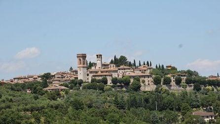 Le immagini di Corciano, gioiello tra le colline umbre