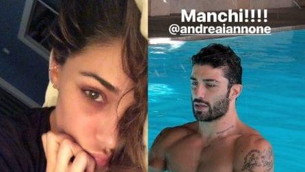 """""""Non mi stanchi mai"""", Belen e Iannone si lanciano messaggi d'amore con le story Instagram"""