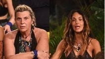 Scontro tra Nadia Rinaldi e Rosa Perrotta all'Isola dei Famosi 2018