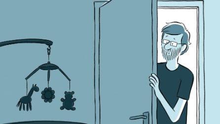 """""""Non è te che aspettavo"""": la storia a fumetti di un padre e della figlia trisomica"""