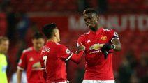 Manchester United, l'esordio di Alexis Sanchez all'Old Trafford: gol e vittoria per Mou