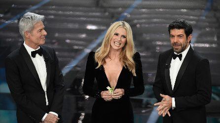 Sanremo 2018: i voti ai look della prima serata