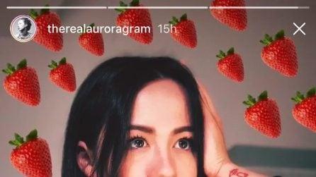 I look di Aurora Ramazzotti a Sanremo 2018