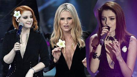 Sanremo, beauty look a confronto con le scorse edizioni