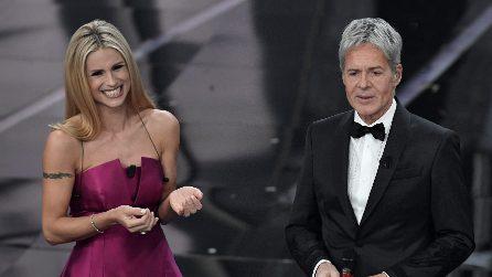 Sanremo 2018: i voti ai look della seconda serata
