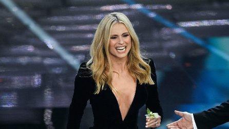 I gioielli di Michelle Hunziker a Sanremo
